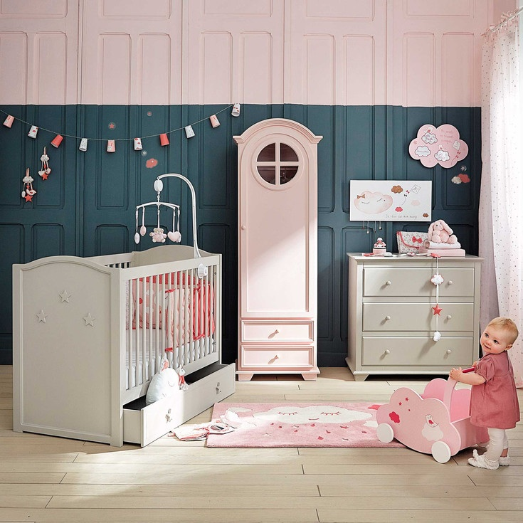 d co chambre bebe fille maison du monde. Black Bedroom Furniture Sets. Home Design Ideas
